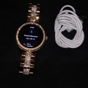 Fossil Venture Rose Gold Smartwatch